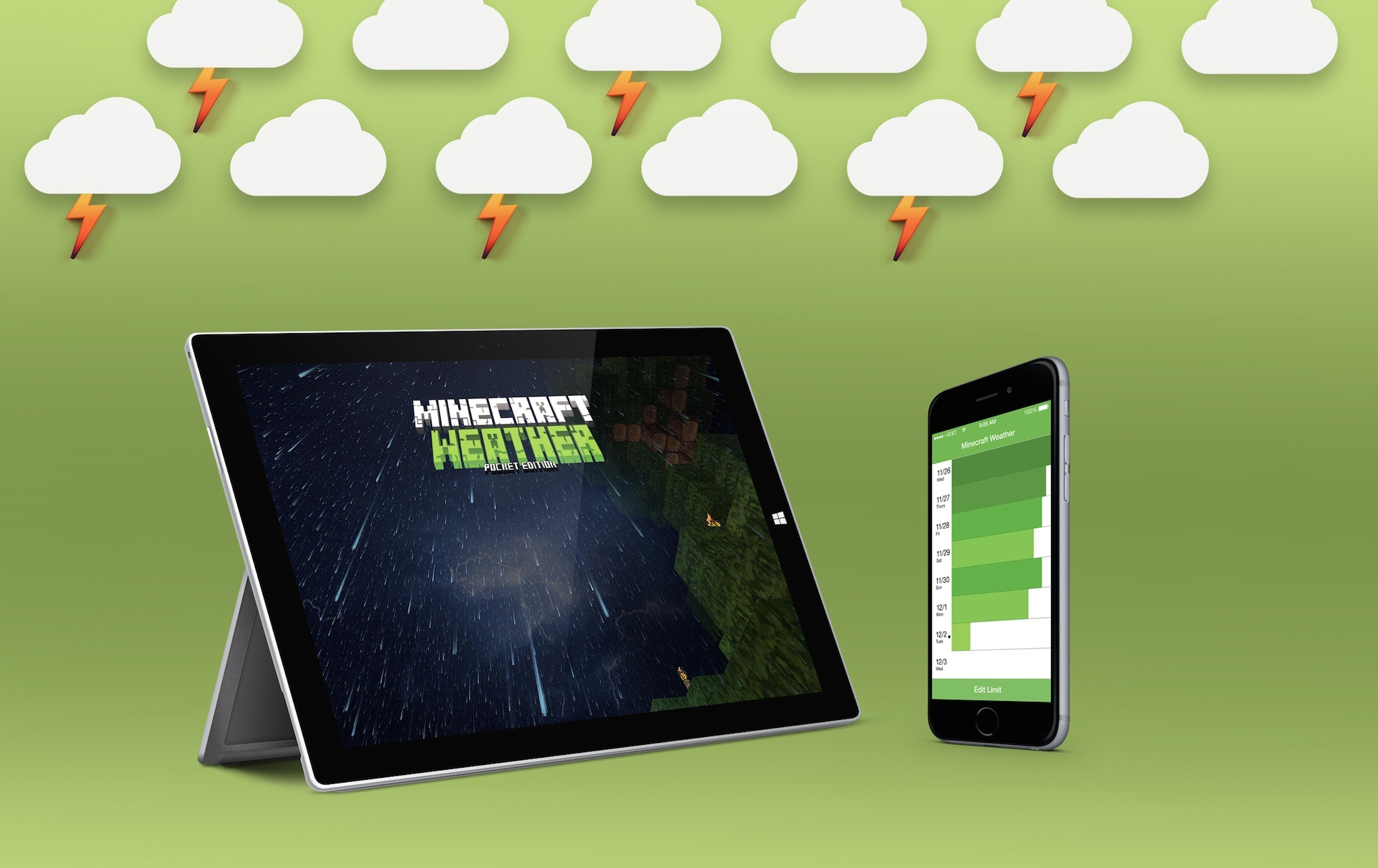 Minecraft Weather Cover Photo